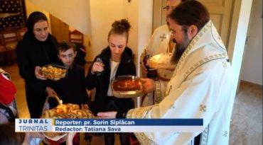 Slujire arhierească în Paraclisul Centrului Episcopal din Stockholm (preluare TRINITAS.TV)
