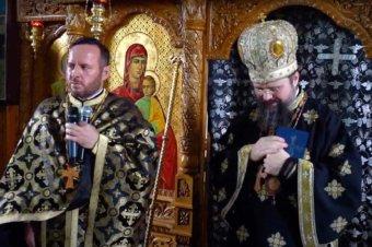 Cuvântul de mulțumire al Protopopului Cristian Dragoș cu prilejul săvârșirii Liturghiei Darurilor de către Preasfințitul Părinte Episcop Macarie Drăgoi al Europei de Nord în satul său natal Spermezeu, jud. Bistrița-Năsăud, miercuri, 14 aprilie 2021