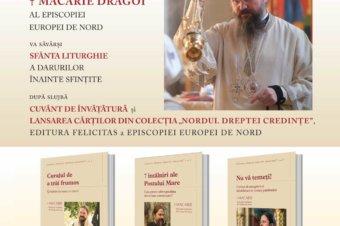"""Lansare de carte: trei volume din colecția """"Nordul Dreptei Credințe"""" apărute la Editura Felicitas a a Episcopiei Europei de Nord, 16 aprilie 2021"""