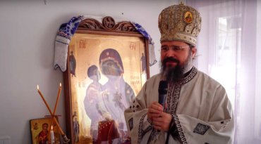Episcopul Macarie, fiind în vizită pastorală la românii din Laponia, relatează o minune din viața Sfântului Vasile cel Mare despre săvârșirea Proscomidiei, Sâmbăta pomenirii celor adormiți la Skellefteå în nordul Regatului Suediei, 10 aprilie 2021