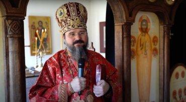 """Episcopul Macarie: """"Sfântul Mare Mucenic Gheorghe ne învață că blândețea este singura armă pe care o putem folosi în fața asalturilor răutății"""", Paraclisul Episcopal din Stockholm, vineri, 23 aprilie 2021"""