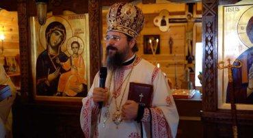 """Episcopul Macarie: """"Să ținem așa cum ținem la propria noastră viață la libertatea și demnitatea la care ne-a ridicat Hristos!"""", Duminica a 5-a a Postului Mare, 18 aprilie 2021, în biserica """"Sfinții Năsăudeni"""" din orașul Sölvesborg, Suedia"""