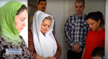 Preasfințitul Părinte Macarie a vizitat comunitatea românească din Skellefteå (preluare TRINITAS.TV)