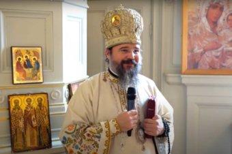 """Episcopul Macarie: """"Astăzi, de ziua nașterii mele, cel mai mare dar este Botezul acestor doi prunci din familia noastră duhovnicească!"""" Duminica după Paști, 9 mai 2021, Sfânta Liturghie în biserica parohiei românești din Uppsala, Regatul Suediei"""