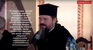 Preasfințitul Părinte Episcop Macarie a participat la conferințele preoțești de primăvară de la Mănăstirea Zosinde la care au luat parte preoții din Botoșani (preluare doxologia.ro)