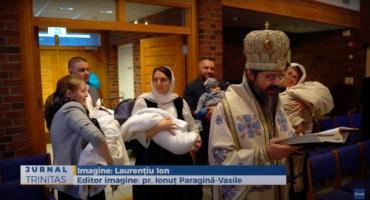 """Slujire arhierească în Parohia românească """"Învierea Domnului"""" din Oslo (preluare TRINITAS.TV)"""