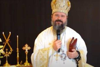 """Episcopul Macarie: """"Modelul Dreptului Iov Multrăbdătorul: Să nu privim credința ca pe un contract în care Dumnezeu este obligat să ne răsplătească fidelitatea!"""", Joia Luminată, 6 mai 2021, Sfânta Liturghie în Holstebro, Regatul Danemarcei"""