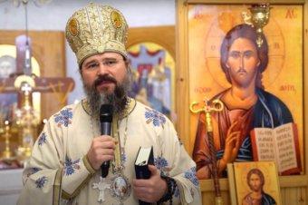 """Episcopul Macarie: """"Maică, iată fiii tăi!"""", Vinerea Luminată a Izvorului Tămăduirii, 7 mai 2021, Sfânta Liturghie în Herning Ikast, Regatul Danemarcei"""