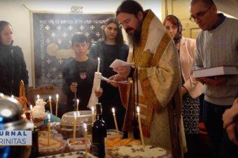 Preasfințitul Părinte Macarie s-a rugat pentru cei adormiți (preluare TRINITAS.TV)