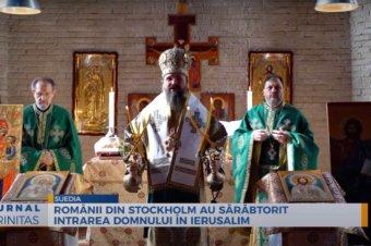 Românii din Stockholm au sărăbtorit Intrarea Domnului în Ierusalim (preluare TRINITAS.TV)