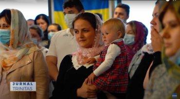 Binecuvântare arhierească pentru credincioșii români din Esbjerg (preluare TRINITAS.TV)