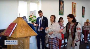 Liturghie arhierească pentru românii din Bergen (preluare TRINITAS.TV)