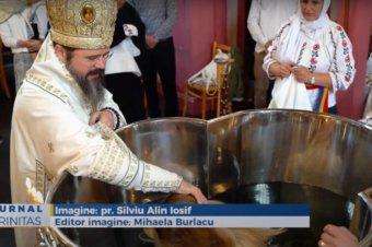 Slujire arhierească în parohia românească din Goteborg (preluare TRINITAS.TV)