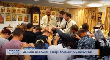 """Hramul Parohiei """"Sfinții Români"""" din Roskilde (preluare TRINITAS.TV)"""