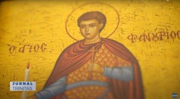 Sfântul Mucenic Fanurie, cinstit de comunitatea românilor din Stockholm (preluare TRINITAS.TV)