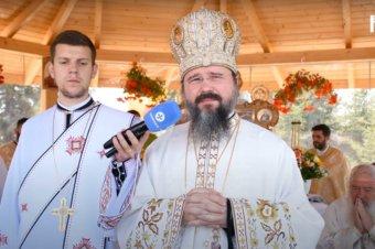 """""""Atunci când ne este greu, să privim la icoana Sfinților Martiri Brâncoveni"""" Cuvântul de învățătură al Preasfințitului Părinte Macarie, Episcopul Europei de Nord, rostit în ziua de pomenire a Sfinților Martiri Brâncoveni, luni, 16 august 2021, la Mănăstirea """"Crucea Iancului"""" de la Mărișel, județul Cluj, cu prilejul hramului și sfințirii bisericii așezământului monahal (preluare Radio Renașterea)"""