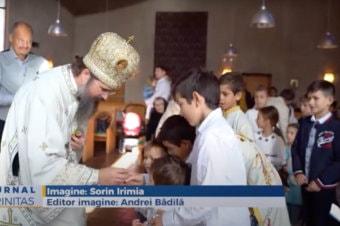 Liturghie arhierească în comunitatea românilor din Tungelsta (preluare TRINITAS.TV)