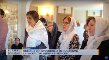 Românii din Stockholm, în rugăciune la începutul anului bisericesc (preluare TRINITAS.TV)