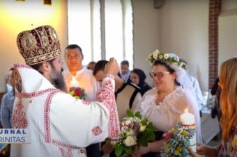 Liturghie arhierească în comunitatea românilor din Göteborg (preluare TRINITA.TV)