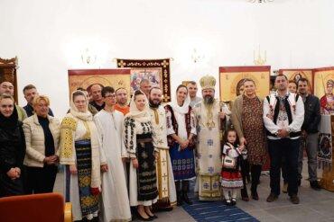 Preasfințitul Părinte Episcop Macarie, la prăznuirea Acoperământului Maicii Domnului, a săvârșit Privegherea de noapte cu Dumnezeiasca Liturghie în parohia Kristiansand din Norvegia, 1 octombrie 2021