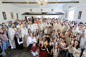 Sfințirea bisericii românești din Bergen, Norvegia, 3 octombrie 2021