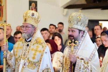 Episcopii Maramureșului și Europei de Nord au sfințit biserica și biblioteca românească din Bergen (preluare basilica.ro)