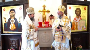Predica Preasfințitului Părinte Episcop Iustin al Maramureșului și Sătmarului la sfințirea bisericii românești din Bergen, Norvegia, 3 octombrie 2021