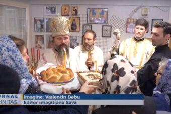 Liturghie arhierească în Parohia românească din Roskilde (preluare TRINITAS.TV)