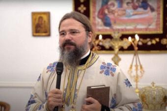 """Episcopul Macarie la Kristiansand în Norvegia la Privegherea de noapte în cinstea Acoperământului Maicii Domnului: """"Ne dăm seama oare cât de mare este darul de a avea parte de îmbrățișarea în duh a Maicii Domnului?"""" 1 octombrie 2021"""